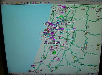 Dispečer má k dispozici on-line polohy všech vozidel MDA