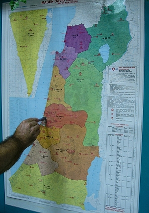 Mapa regionů