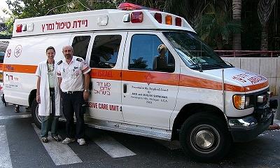 ALS posádka doplněná o lékařku místní nemocnice