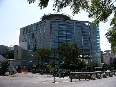 největší nemocnice v Tel-Avivu - Sourasky medical center