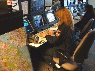 EMS dispečink - pracoviště dispečerů