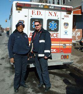 Posádka paramediků FDNY