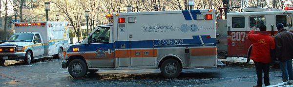Typický společný zásah ALS, BLS a hasičů