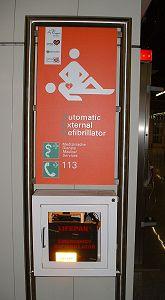 Letiště Frankfurt - AED