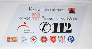 Loga organizací podílejících se na fungování záchranného systému města Frankfurt