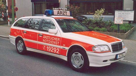 "Vozidlo lékaře ""LSPP"" Frankfurt"